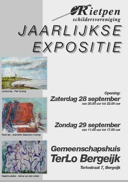 Expositie Rietpen 2013