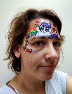 Eenhoorn regenboog eyedesign