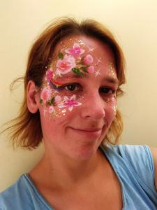 rozen design met pixie paint